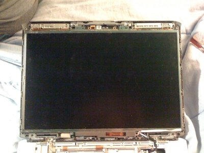 Screen with frame removed